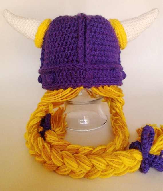 2a6e15b9 free shipping,BABY ENGLAND Viking Helmet Vikings Hat Soft With Hair  Halloween .children's crochet hats.FANCY DRESS-Deep purple
