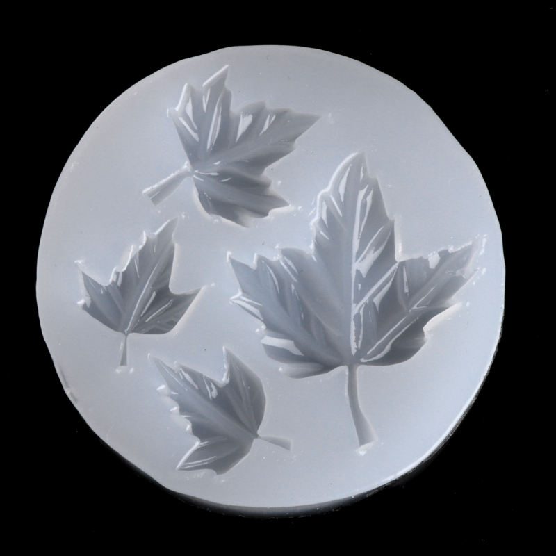 Free Shipping Maple Leaf DIY Silicone Mold Craft Mould Resin Necklace Jewelry Pendant Making       -W128