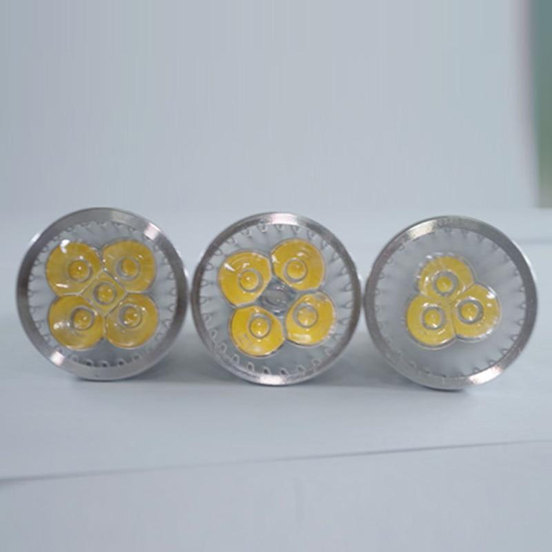 Купить с кэшбэком 100X High Power spot Lampada LED spotlights GU5.3 MR16 E27 9W 12W 15W GU10 led bulbs Dimmable Led Lamp light AC&DC12V AC110V220V