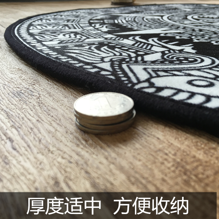 2018 High Quality Acrylic Captain Round Rugs Living Room Doormat Cartoon Carpets Door Floor Mat for Bedroom Carpet Kids Room