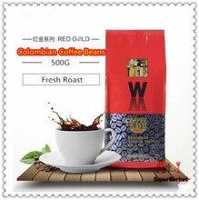 Колумбия жареная зерен кофейных арабика высококачественный зернах похудеть свежий оригинальный кофе