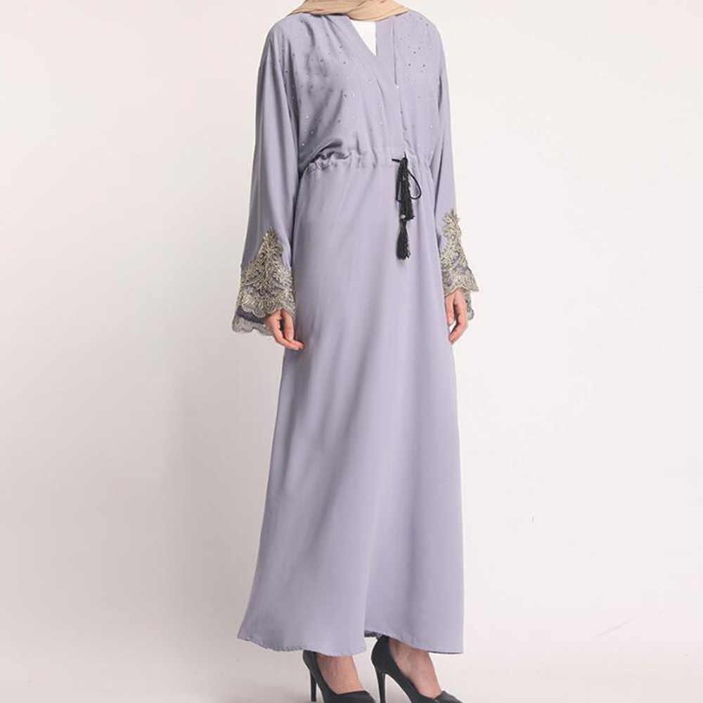 Абайя мусульманская 2019 кафтан арабский молитвенная одежда ислам арабское женское кимоно Дубай абайя ИД марокаин Катара эльбиза платье в турецком стиле