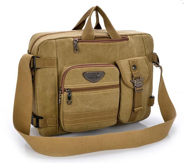 2016 New Arrival Men Canvas Briefcase Brand Business Shoulder Bag Men Messenger Bags Laptop Handbag Bag Men's Travel Bags DB5429