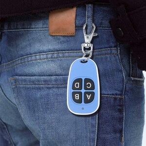 Image 5 - Kebidu השליטה מרחוק 433MHz שיבוט מעתק אלחוטי 4 מפתחות עמיד למים ידית מוסך שער חשמלי דלת מפתח