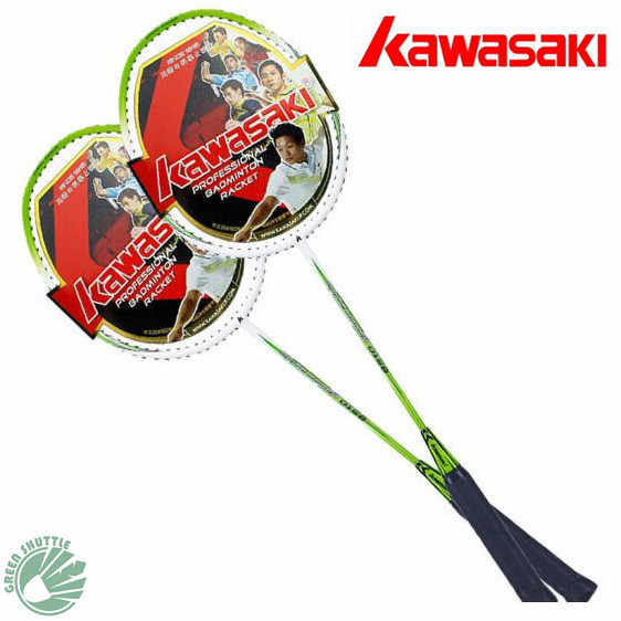 Genuine 2019 Kawasaki Racket A Pair Of Amateur Junior Badminton Racquet UP-0157 UP-0158 Racket With Strung