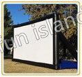 2016 uso comercial ao ar livre tela de cinema inflável para a venda