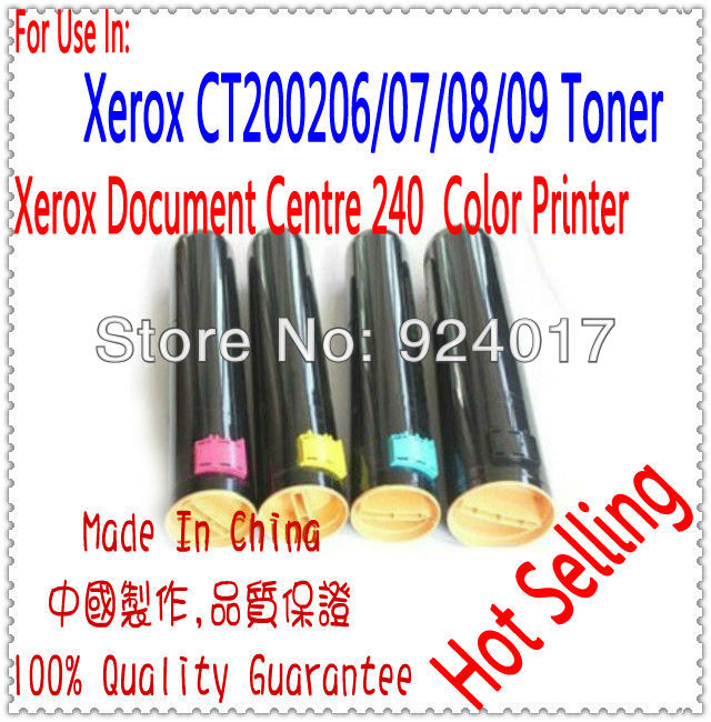Toner Cartridge For Xerox 240 Printer,Use For Xerox CT200206/07/08/09 Toner Refill,For Xerox Document Centre C240 Toner Reset sony hdr az1vr
