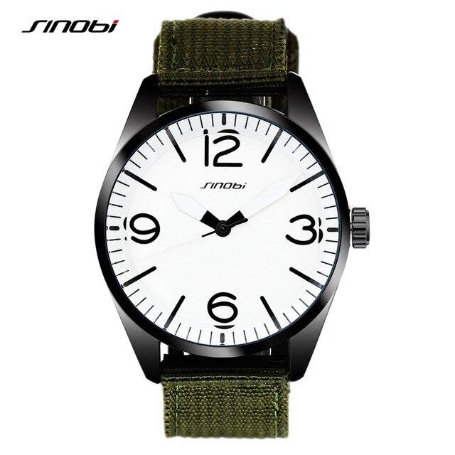 SINOBI Boys Sports Wrist Watches Nylon Watchband Top Luxury Brand Children Waterproof Quartz Clock Kids Wristwatches ninos miran