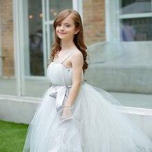 Девушка Цветок Платья Балетной Пачки ручной учетом платье большой девственный Принцесса ПАЧКИ марли платья девушки подарок на день рождения шоу