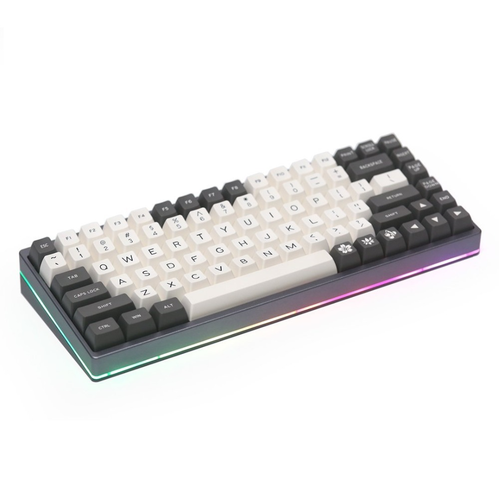 KBD75 V2 Custom keyboard DIY kit contains Case/Plate/Type-c PCB/Stab