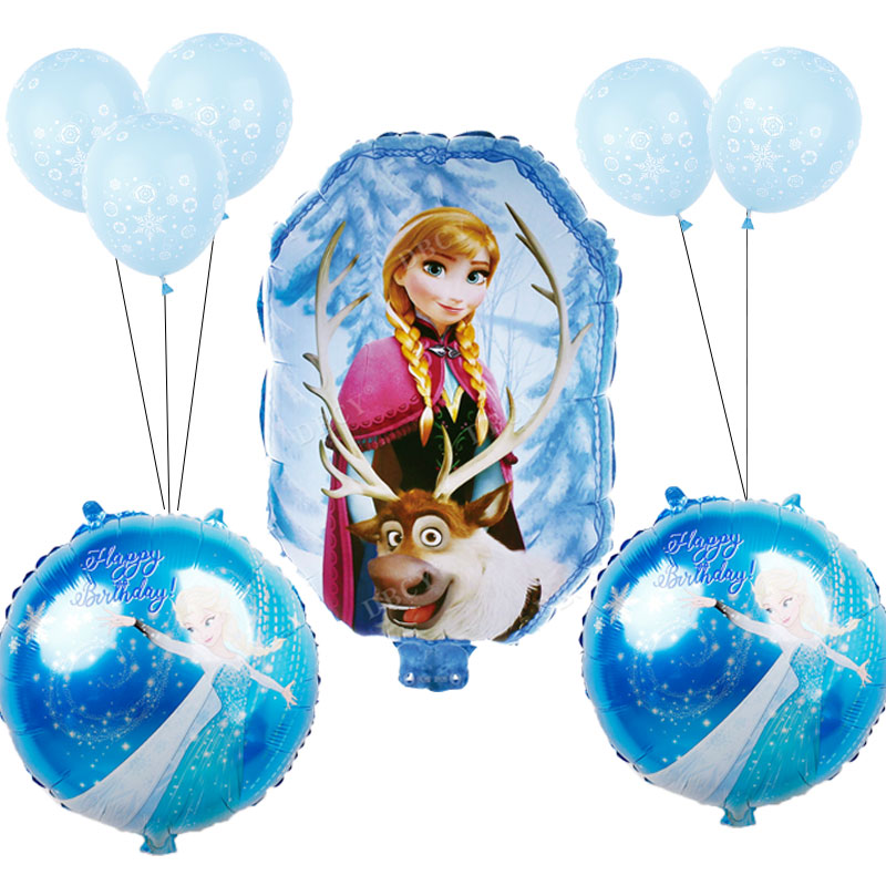 Large 37``Disney Cinderella Balloon Birthday Party Foil Air Helium Fill Balloon