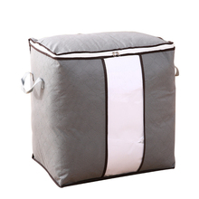 Foldable Storage Bags Folding Organizer Bag for Clothes Quilt Blanket Pillow Luggage Breathable Closet Organizer Dropshipping