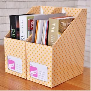 le dernier b34b9 6d48a € 10.04 46% de réduction|Livraison gratuite boîte de rangement de bureau  papeterie livres stockage papier couleur différente et design 30.5*23.5*9  cm ...