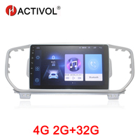 HACTIVOL 2G+32G Android 8.1 Car Radio for KIA Sportage R 2016 KX5 car dvd player gps navi car accessory 4G multimedia player