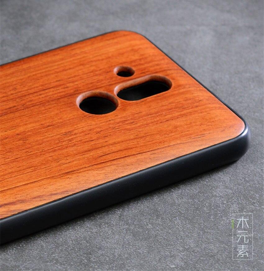 2018 New Huawei Mate 20 Lite Case Slim Wood Back Cover TPU Bumper Case For Huawei Mate 20 Lite Phone Cases Mate20 lite (3)