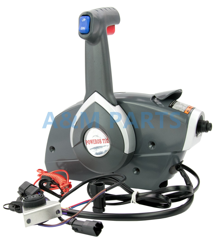 Outboard Side Mount Remote Control Box for BRP Johnson Evinrude Throttle/Shift Box