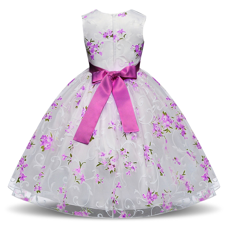 HTB1AWZhX5frK1RjSspbq6A4pFXaV Summer Tutu Dress For Girls Dresses Kids Clothes Wedding Events Flower Girl Dress Birthday Party Costumes Children Clothing 8T