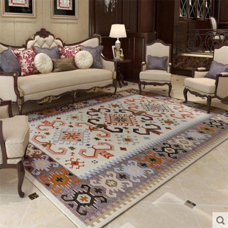 Luksus w stylu śródziemnomorskim miękkie duże dywany dla pokoju gościnnego dywaniki do sypialni dywan do domu dywanik na podłogę moda obszar dywan delikatne w Dywany od Dom i ogród na  Grupa 1