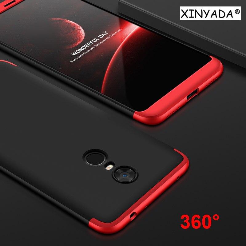 Xinyada для Xiaomi Redmi 5 плюс Redmi5 Pro чехол 360 полная защита + ультра тонкий чехол Shell ударопрочный телефон сумка coque принципиально