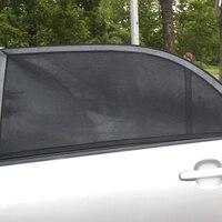 Adjustable Auto Car Side Window Sun Shade Black Mesh Solar Protection Car Cover Visor Shield Sunshade