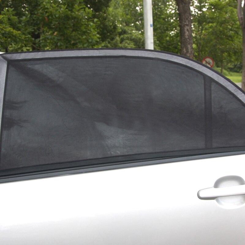 adjustable auto car covers side window sun shade mesh solar protection car cover visor shield. Black Bedroom Furniture Sets. Home Design Ideas