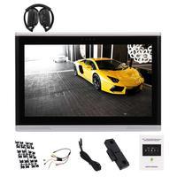 Araba Arka koltuk Kafalık Monitör 10.1 inç Android 6.0 Araç Arka Kafalık Player PC Tablet Monitör + IR Kulaklık 1080 P HD Multimedya