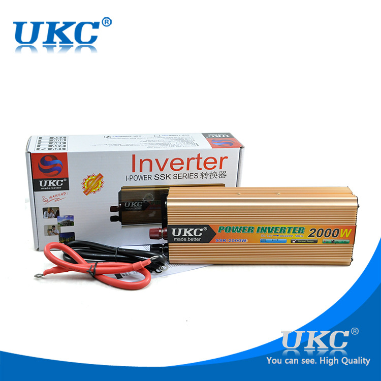 Beste qualität wechselrichter 48 v 220 v 2000 watt universal modifizierte sinuswelle solarwechselrichter freies verschiffen