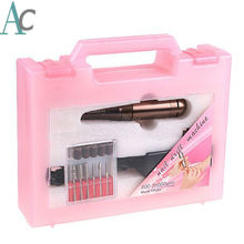 Pro Electric Nail Drill Machine Nail Art Eqipment Manicure Pedicure Files with Drill Bits Sanding Bands Nail Tools