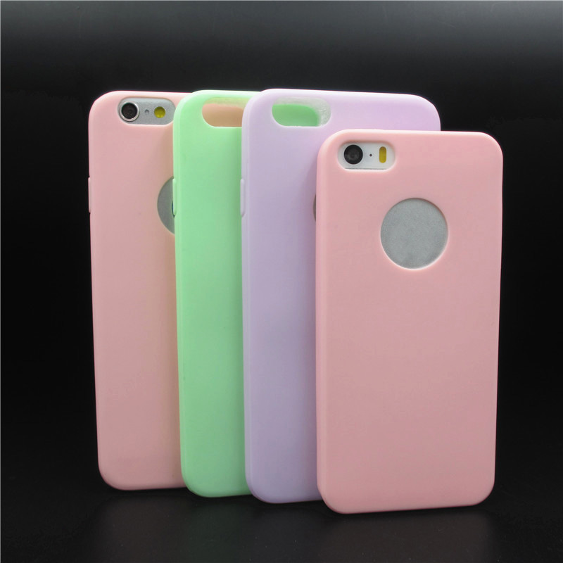 New Arrival case for iphone 5S Candy colors Soft TPU phone cases for iphone 5 5S 5G Accessories CSJK1148