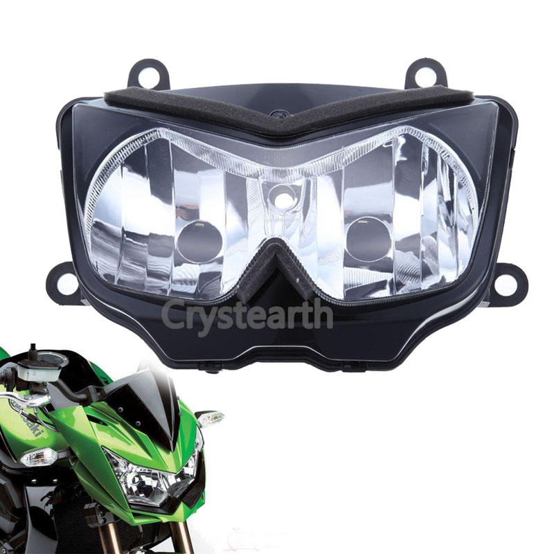 Motorcycle Front Headlight Head Light Headlamp Assembly For Kawasaki Z750 04 05 06, Ninja 250R 08 09 10 11, Z1000 03 04 05 06 for chery riich m1 headlights headlight assembly front lights light headlamp 1pcs