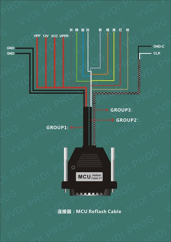 MCU Reflash Cable