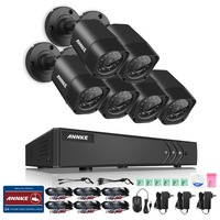SANNCE 8CH CCTV DVR System HDMI 1080P Output HD 800TVL Night Vision IP Surveillance Camera Kit