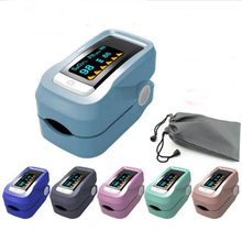 Newest Portable Pulse Oximeter Household Health Monitors Blood Pressure Oximetro Monitor for Health Care Free Shiping