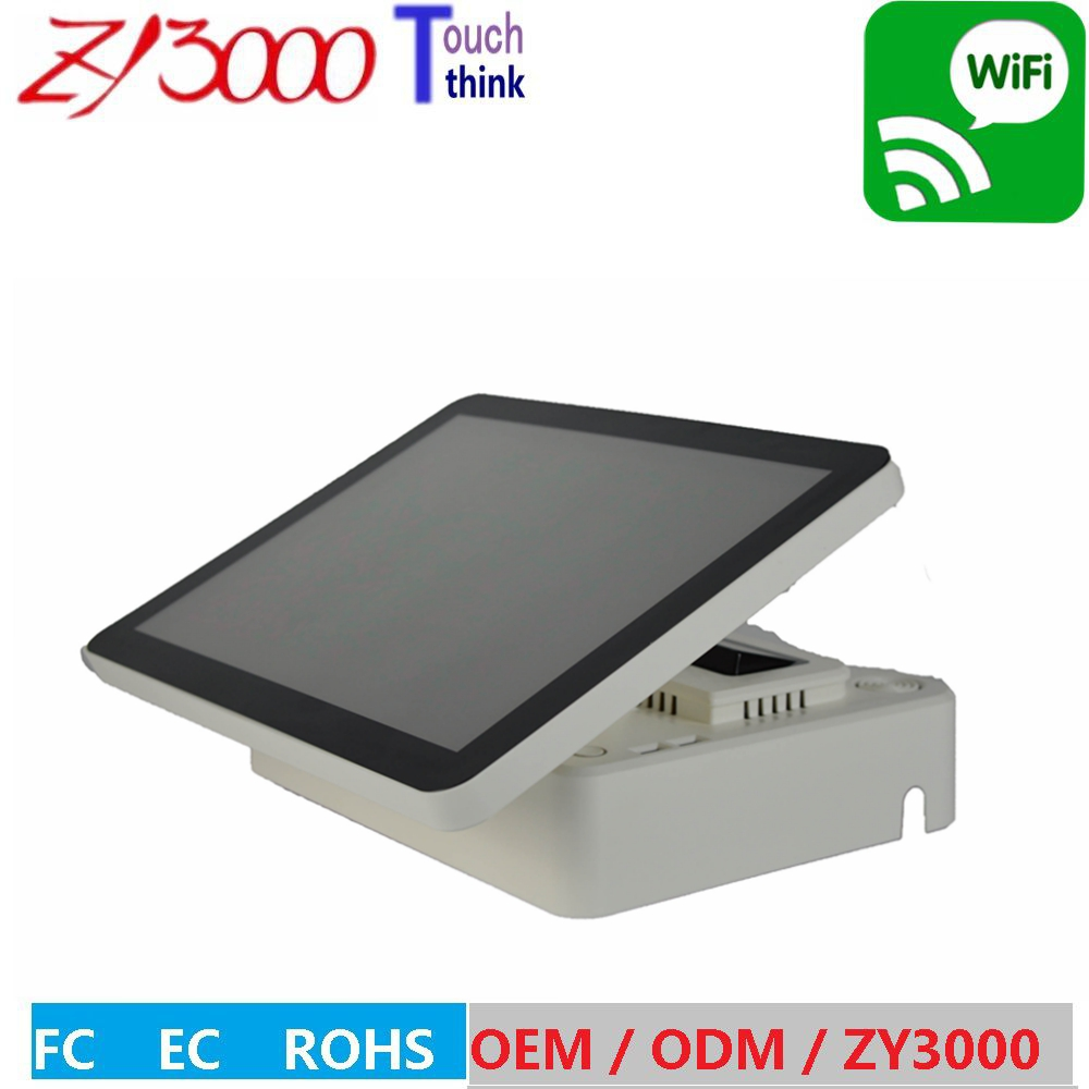 Monitor Lcd Led Monitor New Stock A4 J1900 4g Ddr3 64g Ssd 15 Inch Capacitive Multi Touch Screen Wifi All In One Pos System