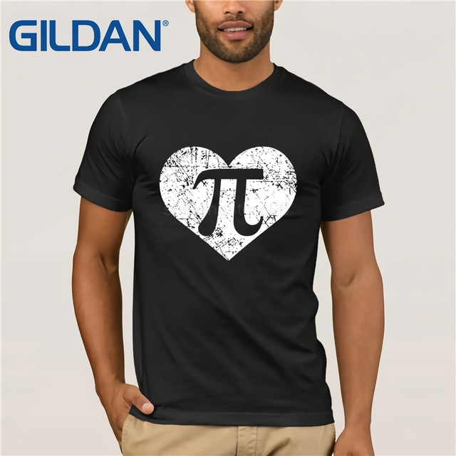 9693d4467 GILDAN I Love Pi Shirt, Funny Cute Math Nerd Teacher 3.14 Gift summer T- shirt