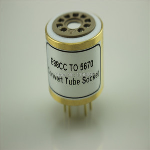 Image 3 - 1 قطعة E88CC 6922 6DJ8 6N11 (العلوي) إلى 5670 6N3 (السفلي) أنبوب الإلكترونية لتقوم بها بنفسك الصوت فراغ أنبوب محول محول مقبس شحن مجاني