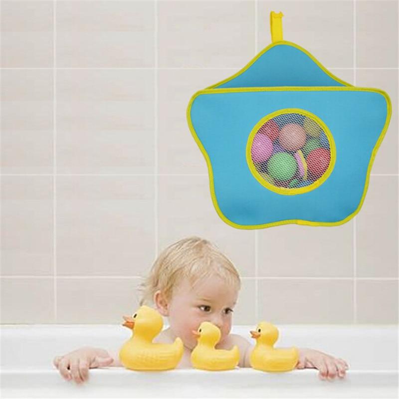 1 Pc Baby Kinder Badewanne Spielzeug Organizer Wasserdicht Spielzeug Hängende Lagerung Tasche Vakuum Beutel Für Kleidung Baby Pflege Zu Hause