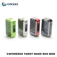 100 Original Vaporesso Tarot Nano Box Mod 2500mAh Built In Battery Fit For VECO EUC