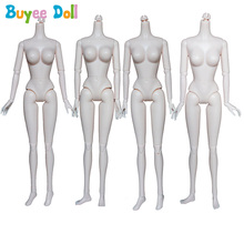 New 4 Sytles 16 Joints Nude Female Naked Body for 1/6 Xinyi Dolls Custom as for 30cm Doll Body Girl DIY Accessories цена