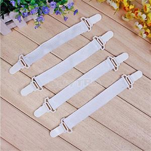 4PCS Bed Sheet Mattress Cover Blankets Grippers Clip Holder Fasteners Elastic Set