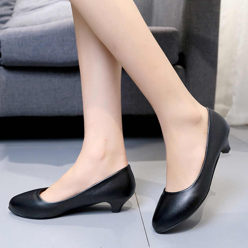 YALNN Big Size Women High Heels Pumps Daily Shoes 3/5/7CM