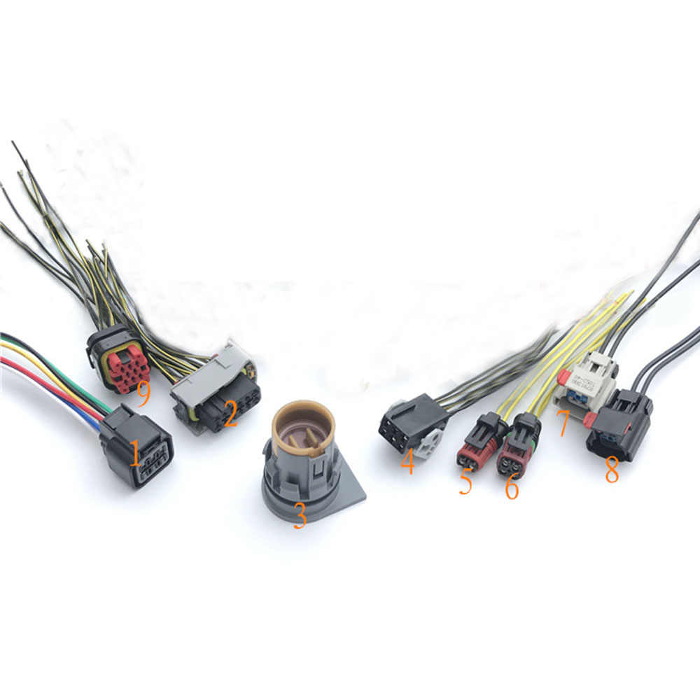 hight resolution of 1pc car nitrogen oxygen sensor plug exhaust gas processing plug sockets for mazda mitsubishi cummins