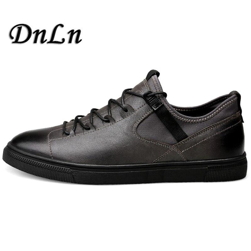 Super Quality Men Flats Gentleman Oxford Genuine Leather Shoes Men Flat Shoes Luxury Casual Shoes D30