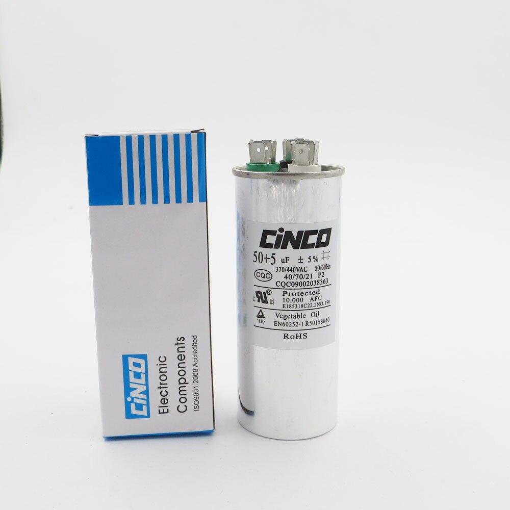 CBB65 50uF Condensador de arranque para motor para aire acondicionado 50//60Hz 5/% AC 450V//370V//250V