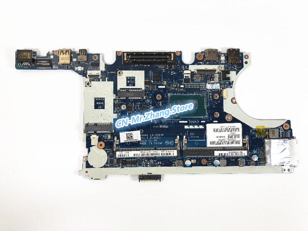 SHELI FOR Dell Latitude E7440 Laptop Motherboard CN-0WK2DM 0WK2DM WK2DM <font><b>i7</b></font> <font><b>4600U</b></font> CPU LA-9591P DDR3 Test 100% good image