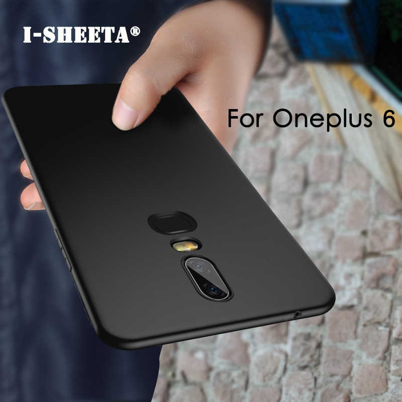 For Oneplus 6 6T 1+6 1+6T Silicone 6.28 inch Matte Soft TPU Phone Case For Oneplus 6 Six A6000 A6003 One plus 6 Case Back Cover