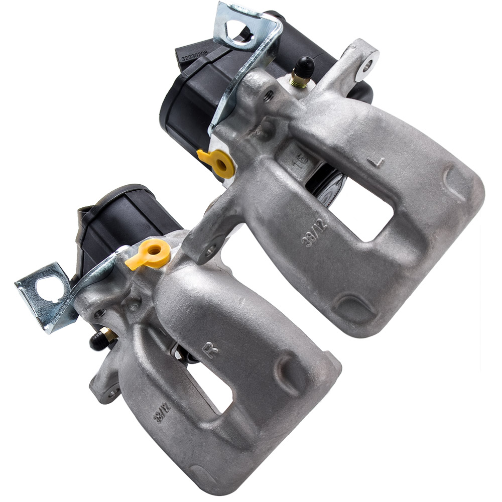 1 Pair For VW PASSAT O/S Rear Right Left Brake Caliper Electric 3C0615404E 3C0615403E For VW Passat 3C 1.9 TDI 05-07