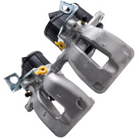 1 Pair Rear Right & Left Brake Caliper For VW PASSAT O/S Electric 3C 1.9 TDI 05 07 3C0615404E 3C0615403E Electric Brake Caliper
