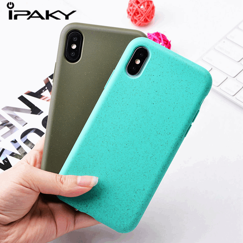 IPAKY Original Candy Color Case For HUawei P30 Pro Sky Frosted Silicone Cover For Huawei P30 P30 Lite Cases Protective Fundas