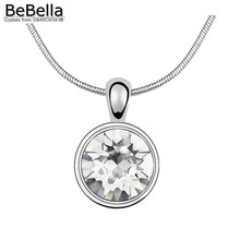 BeBella Xirus Chaton ожерелье с подвеской из кристаллов Swarovski для женщин и девушек модный подарок
